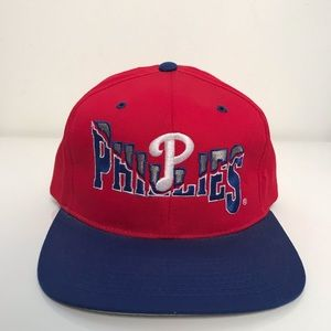 MLB Accessories - Philadelphia Phillies 1990 s Snapback Hat a3f971d876c6